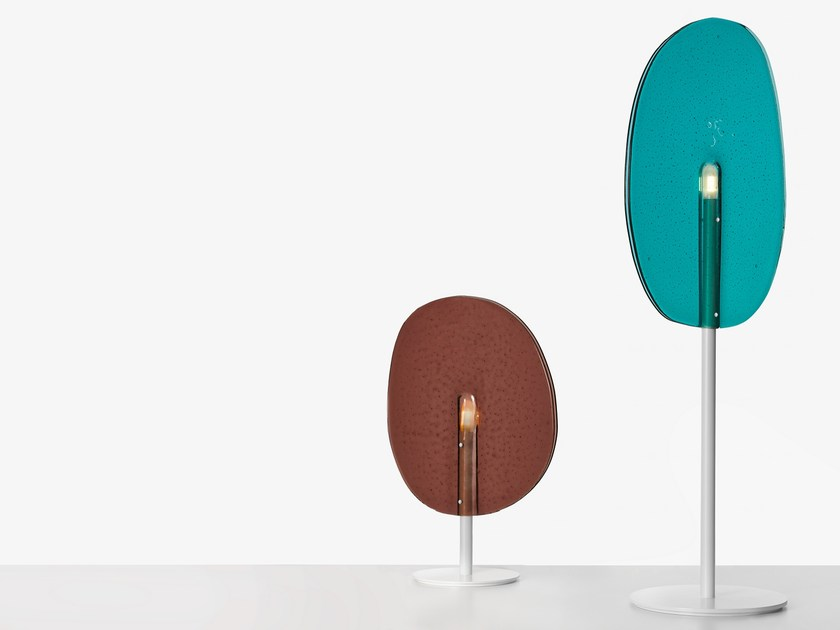 Stained glass table lamp LOLLIPOP | Table lamp by Lasvit