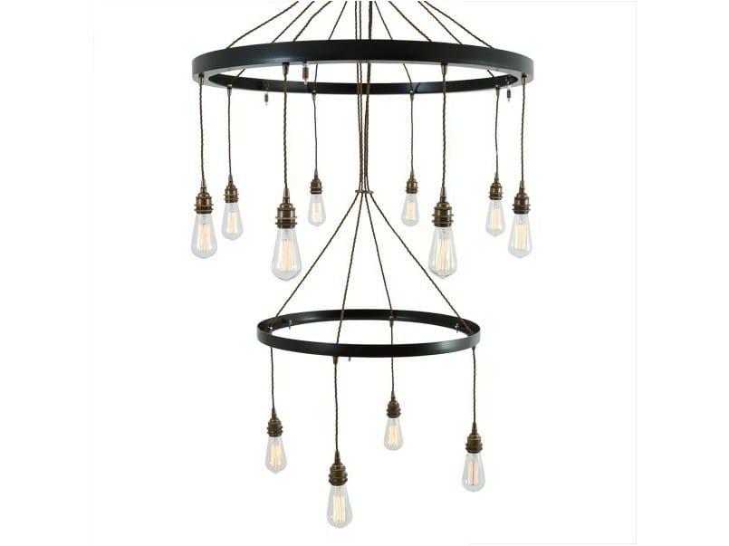 Handmade pendant lamp LOME 2 TIER CHANDELIER - Mullan Lighting