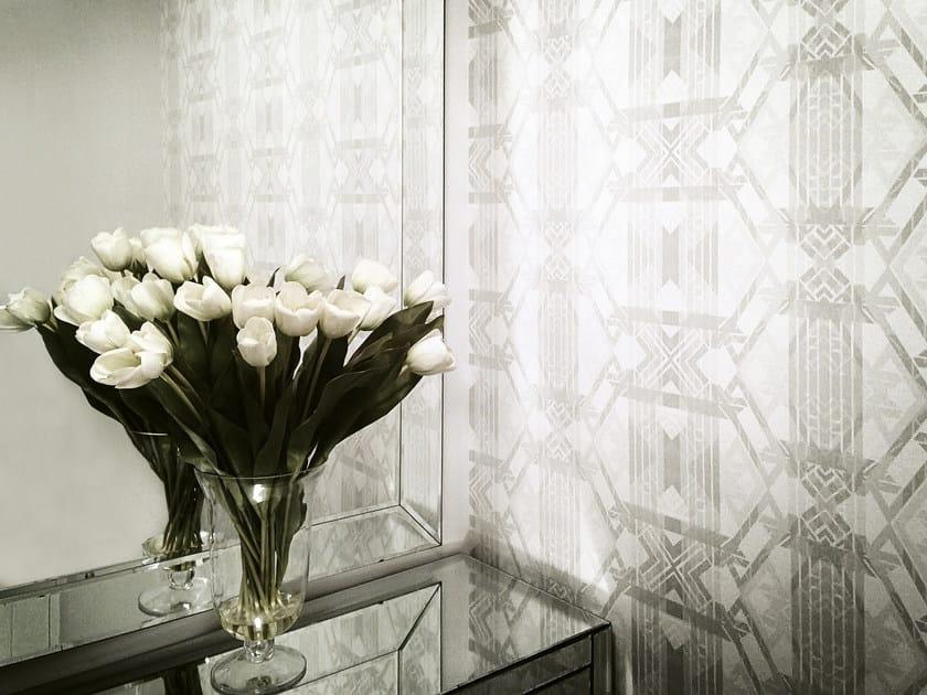Geometric nonwoven wallpaper LONDON DECO by 17 patterns