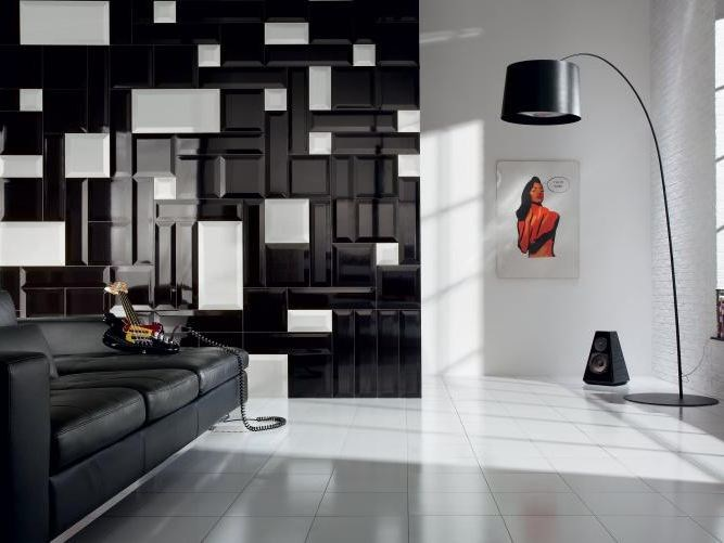 Indoor 3D Wall Cladding LONDON PICCADILLY | 3D Wall Cladding - TUBADZIN
