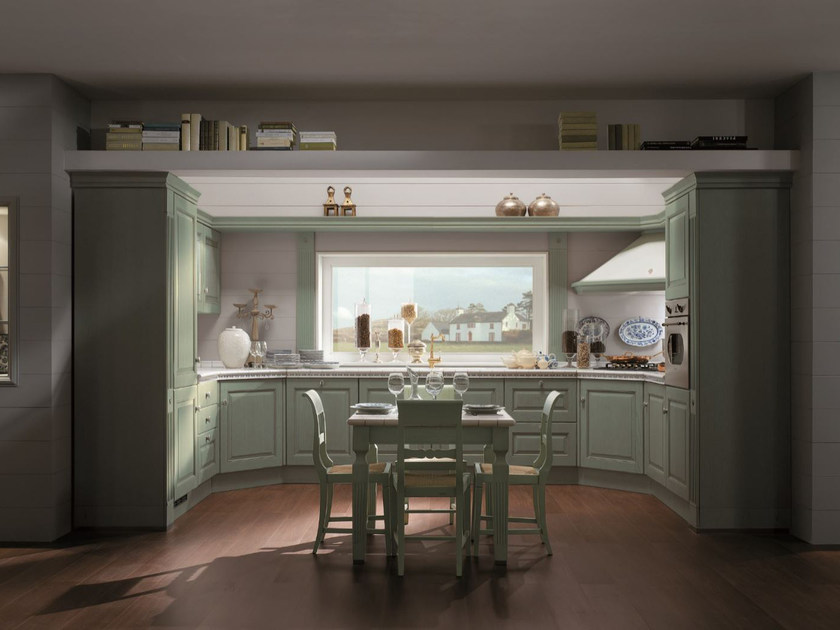 Fitted kitchen LONG ISLAND - Scavolini