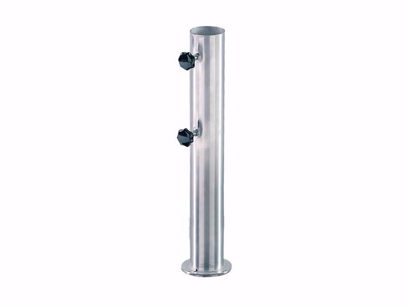 Base per ombrellone in acciaio inox LONG TUBE - ROYAL BOTANIA