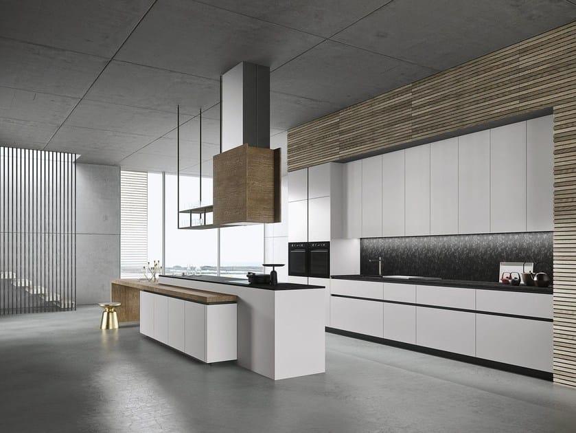 Look küche mit kücheninsel kollektion sistema by snaidero design ...