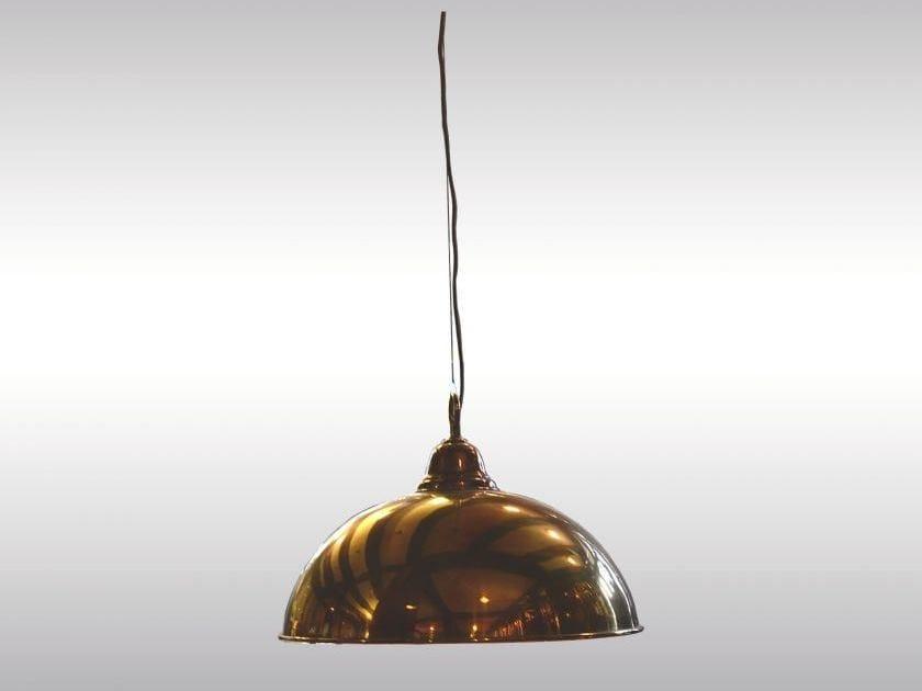 Classic style brass pendant lamp LOOSHAUS COMPTOIR 50 - Woka Lamps Vienna
