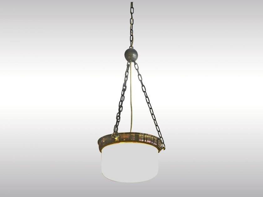 Classic style metal pendant lamp LOOSHAUS - TOPFERL - Woka Lamps Vienna