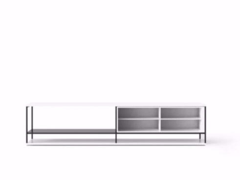 Contemporary style wooden sideboard LOP006   Wooden sideboard - Punt