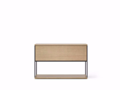Contemporary style wooden sideboard with flap doors LOP101   Sideboard with flap doors by Punt