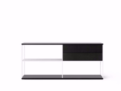 Contemporary style wooden sideboard with drawers LOP103 | Sideboard with drawers by Punt