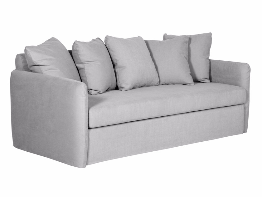 Upholstered 3 seater fabric sofa bed LOTTA - SITS