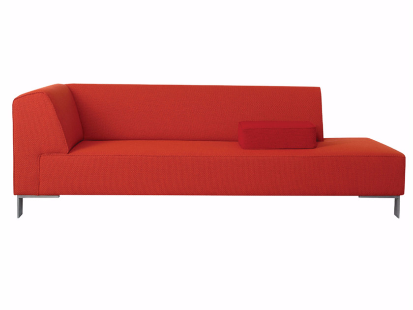 Fabric lounge chair FINCH METAL | Lounge chair - Palau