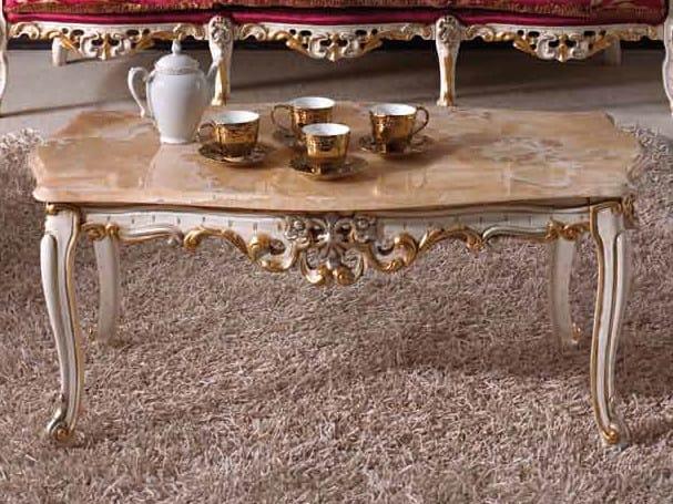 Tavolino basso in marmo BAROQUE | Tavolino basso by Arvestyle