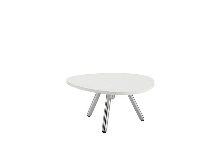 Low lacquered bistro side table BLOG | Low coffee table - Sesta