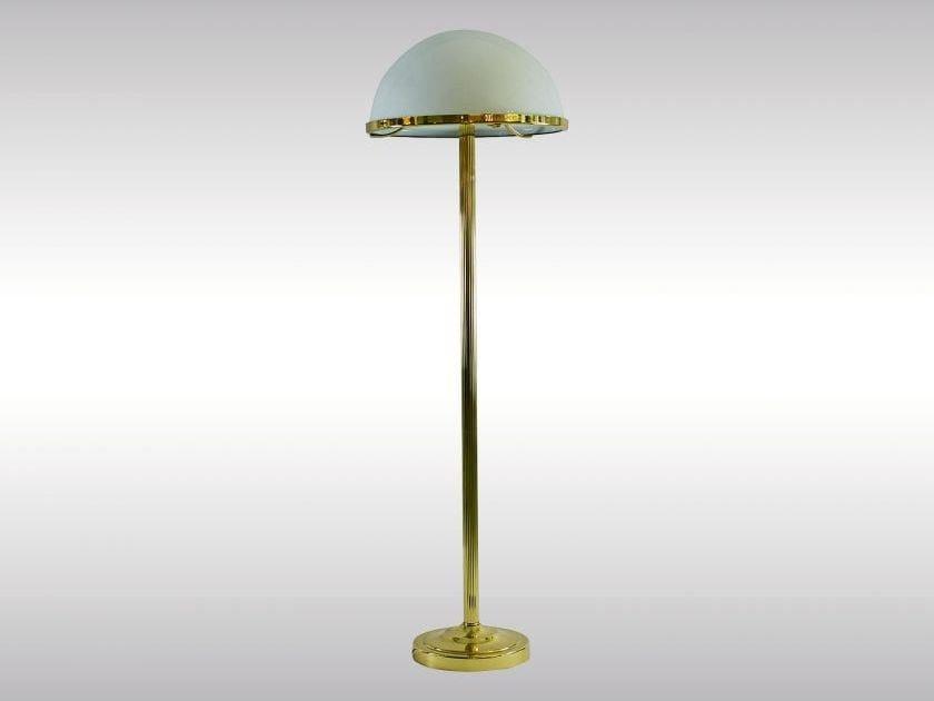 Classic style floor lamp LST3 - Woka Lamps Vienna