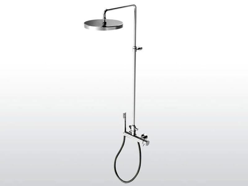 Shower panel with hand shower LUCILLA 3283TA/306 - RUBINETTERIE STELLA