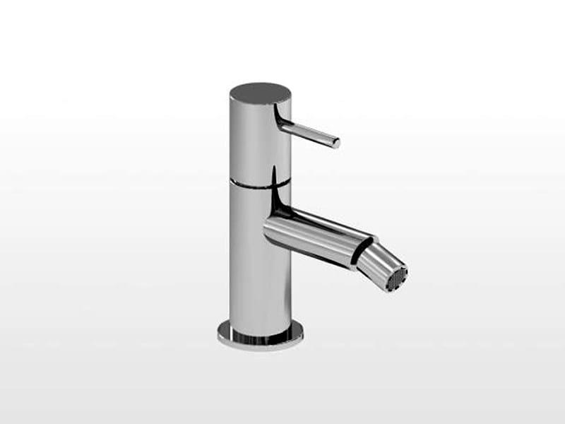 Chrome-plated single handle bidet mixer LUCILLA | 3602 - RUBINETTERIE STELLA