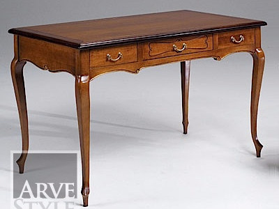 Solid wood writing desk with drawers LUDOVICO - Arvestyle