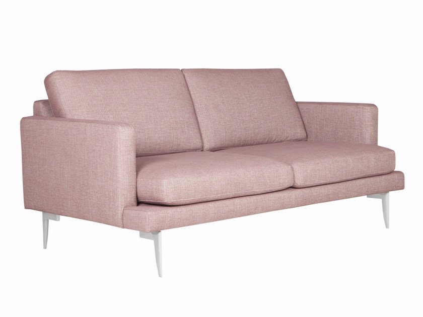 Upholstered 2 seater fabric sofa LUDVIG | 2 seater sofa - SITS