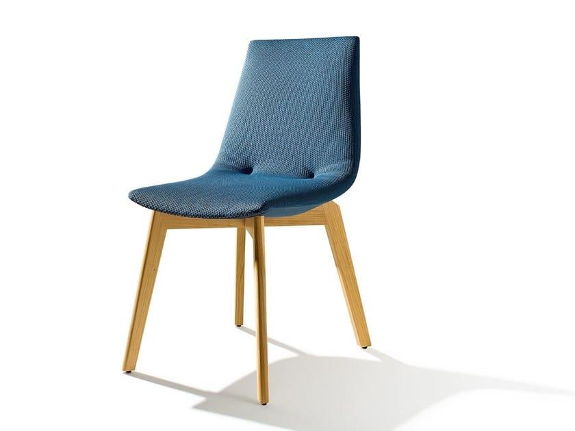 Fabric chair LUI | Fabric chair by TEAM 7