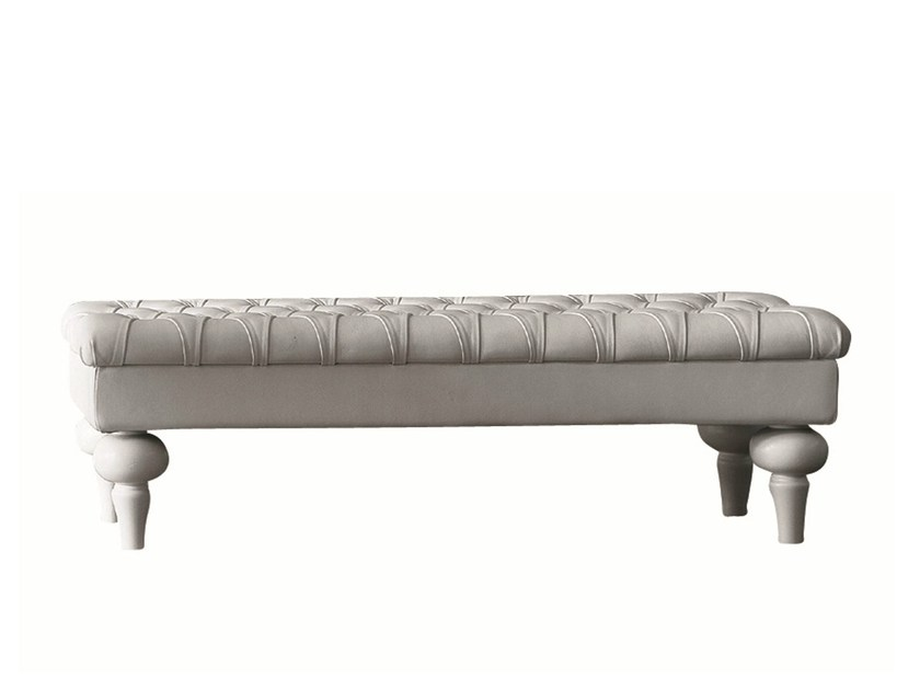 Tufted bench LUISE - Twils