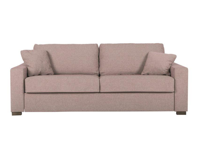 Upholstered 3 seater fabric sofa bed LUKAS | 3 seater sofa bed - SITS