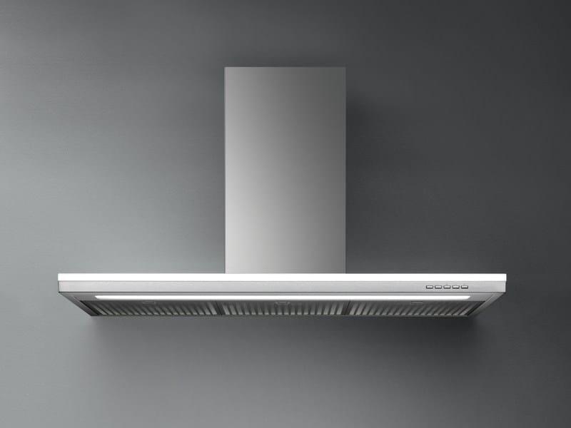 Wall-mounted stainless steel cooker hood LUMEN - Falmec