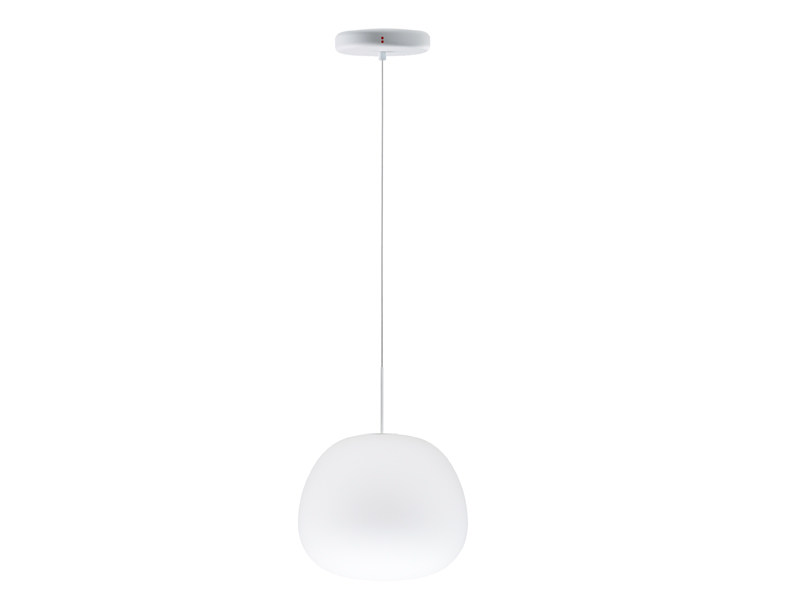Blown glass pendant lamp LUMI MOCHI | Blown glass pendant lamp by Fabbian