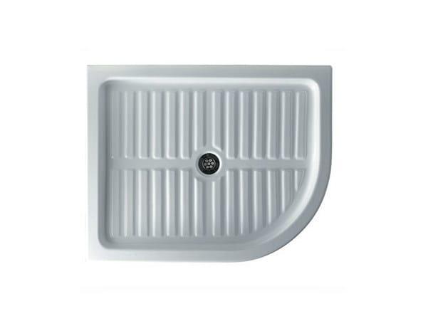 Anti-slip built-in shower tray LUNA DX - GALASSIA