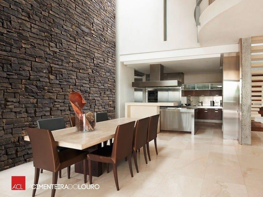 Imitacion piedra para paredes interiores cool de pared de - Paredes de piedra interiores ...