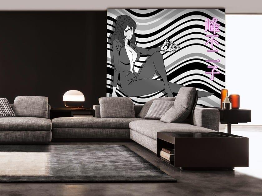 Adhesive washable wallpaper LUPIN08 by Wall LCA