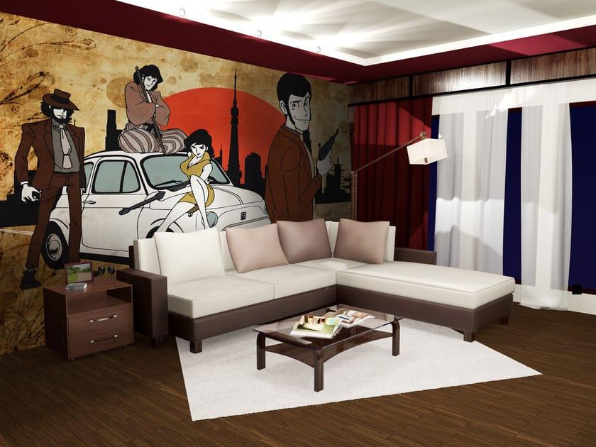 Adhesive washable wallpaper LUPIN15 by Wall LCA