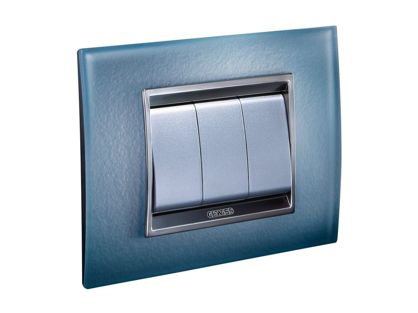 Glass wall plate LUX | Glass wall plate - GEWISS