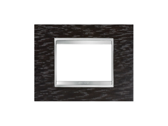 Wenge wall plate LUX | Wenge wall plate - GEWISS