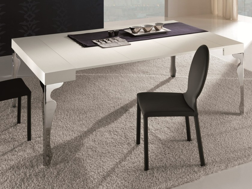 Extending wooden table LUXURY | Extending table - RIFLESSI