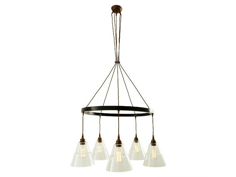 Handmade pendant lamp LYX 1 TIER CHANDELIER - Mullan Lighting