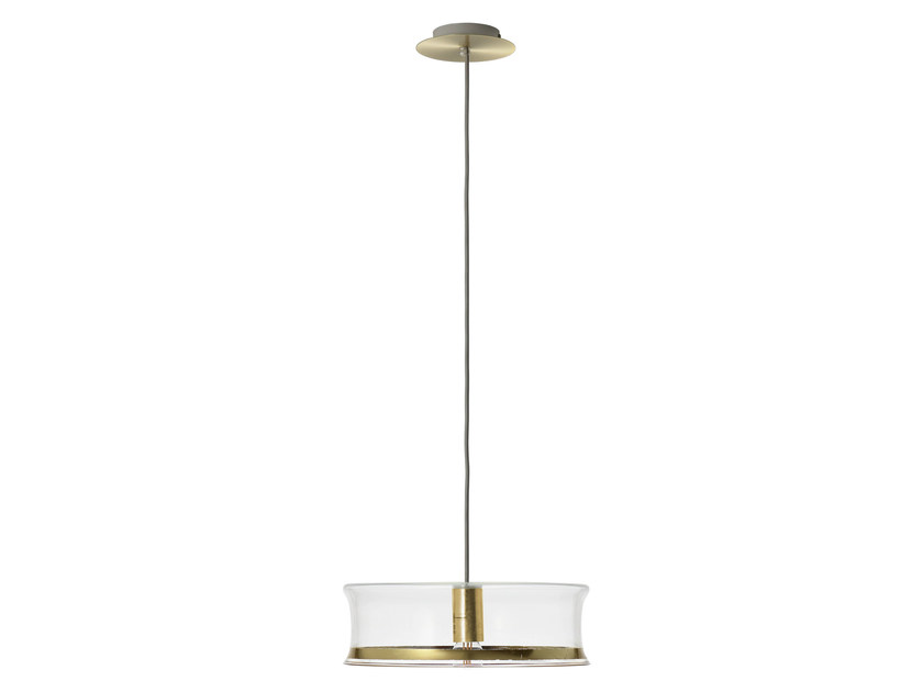 Glass pendant lamp M1 CHIC GOLD - Hind Rabii