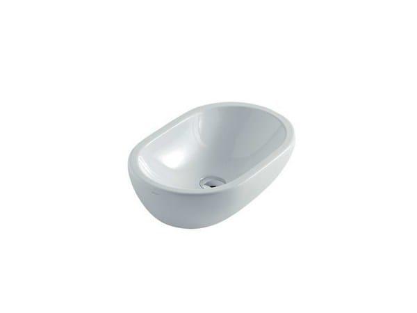 Countertop oval washbasin M2 - 54 CM | Washbasin - GALASSIA