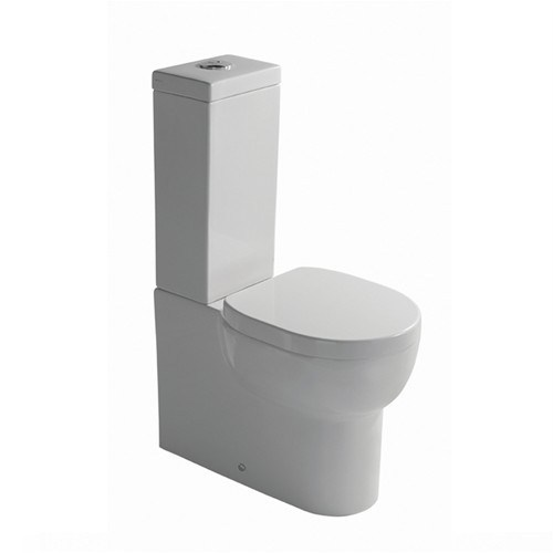 Close coupled toilet with external cistern M2 60 | Close coupled toilet by GALASSIA