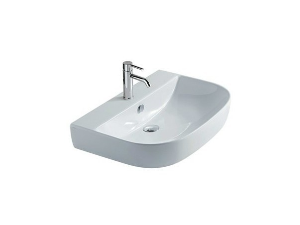 Countertop ceramic washbasin M2 - 70 CM | Countertop washbasin by GALASSIA