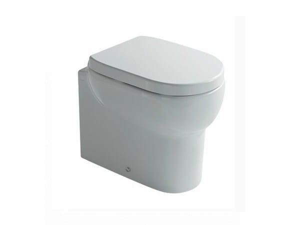 W.c. floor drain adjustable flush M2 | Toilet - GALASSIA