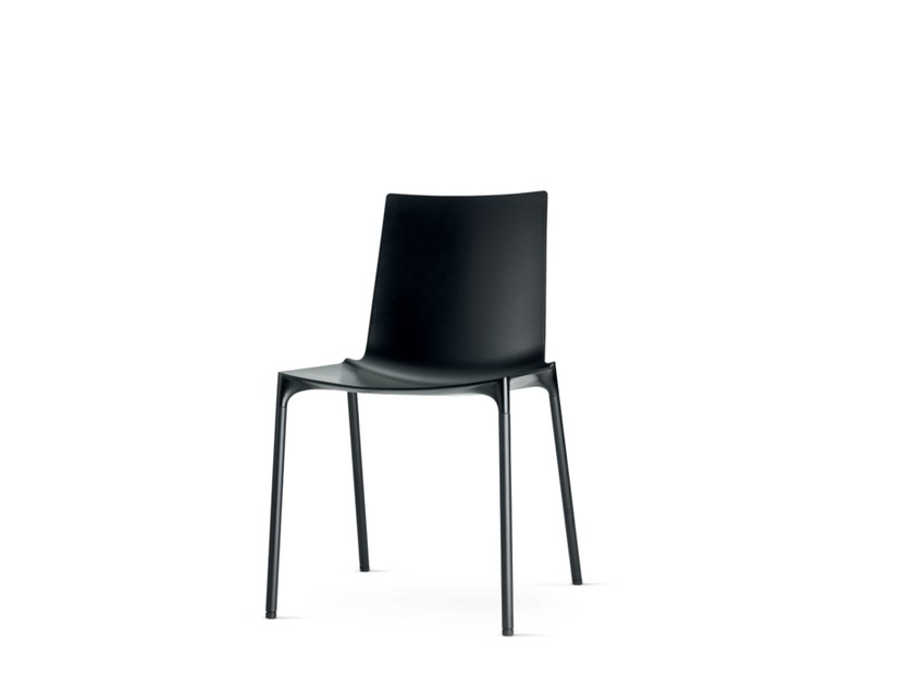 Stackable polypropylene restaurant chair MACAO | Stackable chair by Wiesner-Hager