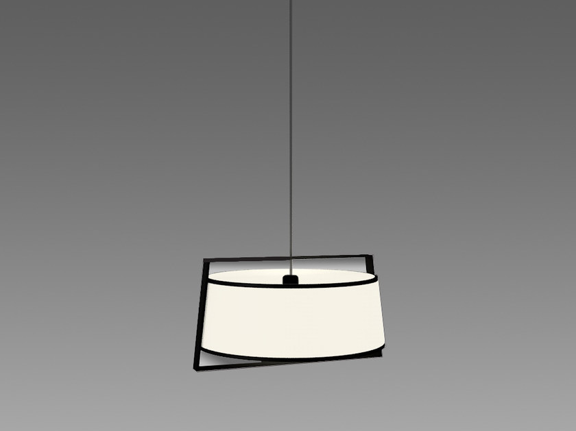 Direct light fabric pendant lamp MACAO | Pendant lamp - Tooy