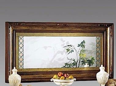 Wall-mounted framed mirror MACCHIAVELLI | Mirror - Arvestyle