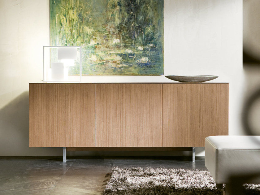Modular sideboard with doors MADDY | Sideboard by Pacini & Cappellini