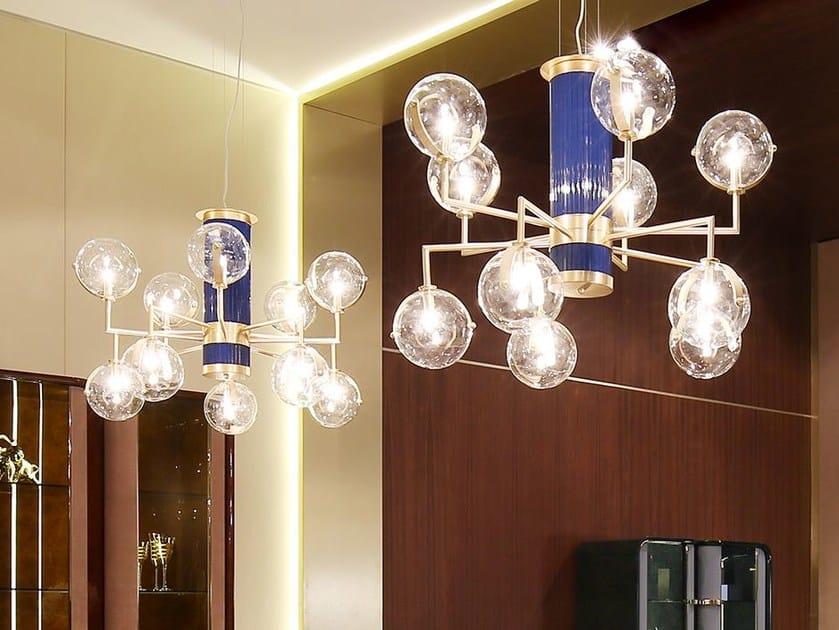 Metal chandelier MADISON | Chandelier by Turri