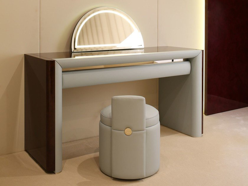 Wooden dressing table MADISON   Dressing table by Turri