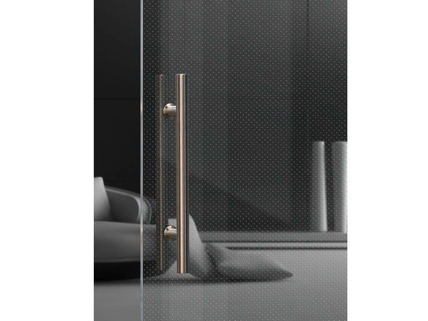 Transparent glass texturized for Led lighting Madras® Punto-n Cristalli - Vitrealspecchi