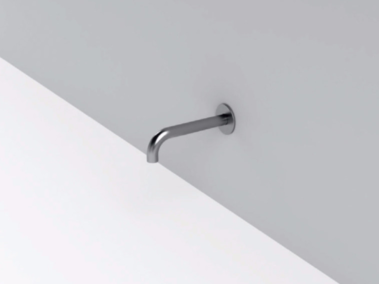 Wall-mounted stainless steel bathtub spout MAE | Bathtub spout by Rexa Design