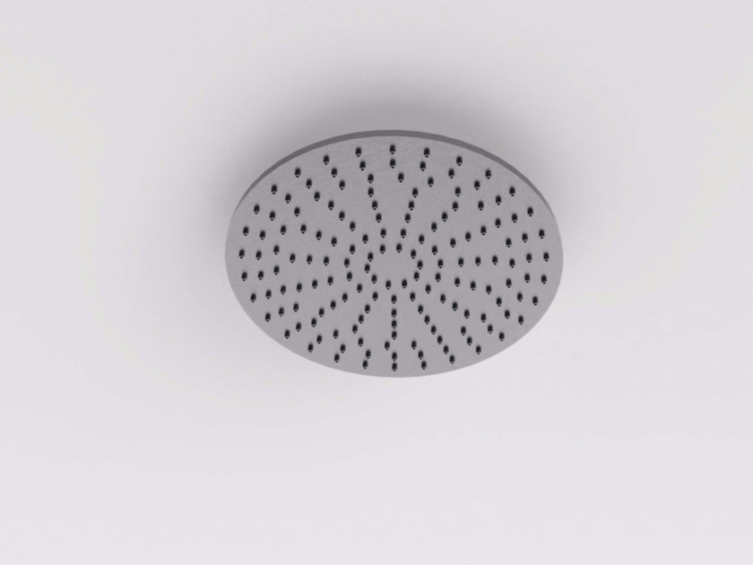 Ceiling mounted built-in stainless steel overhead shower MAE | Built-in overhead shower by Rexa Design