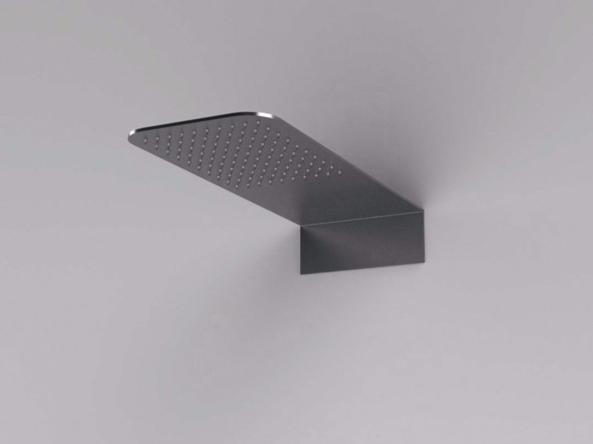 Wall-mounted stainless steel overhead shower MAE   Wall-mounted overhead shower by Rexa Design