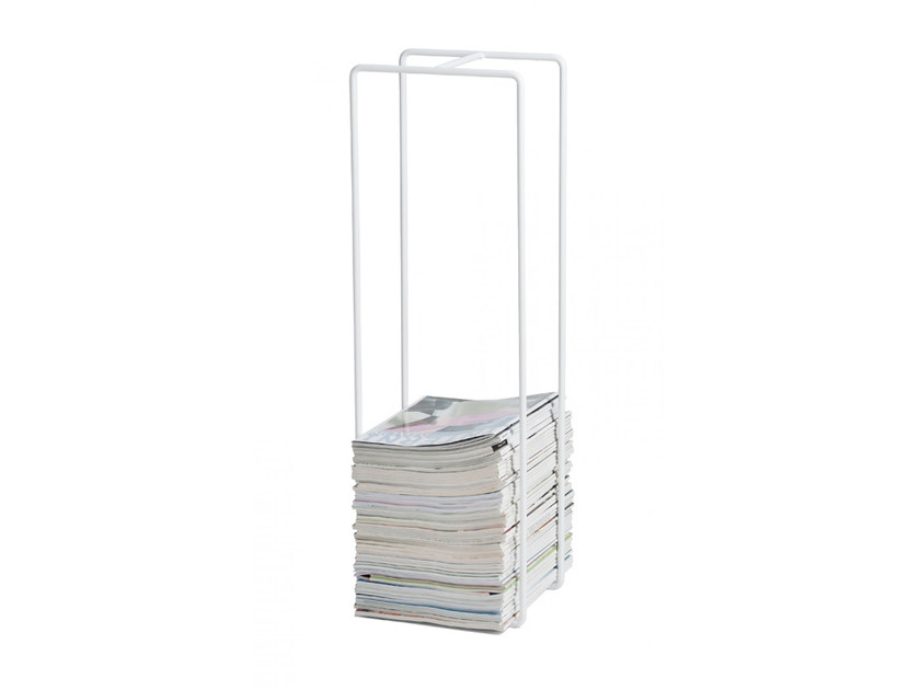 Metal magazine rack MIXRACK | Magazine rack - SHOWROOM Finland
